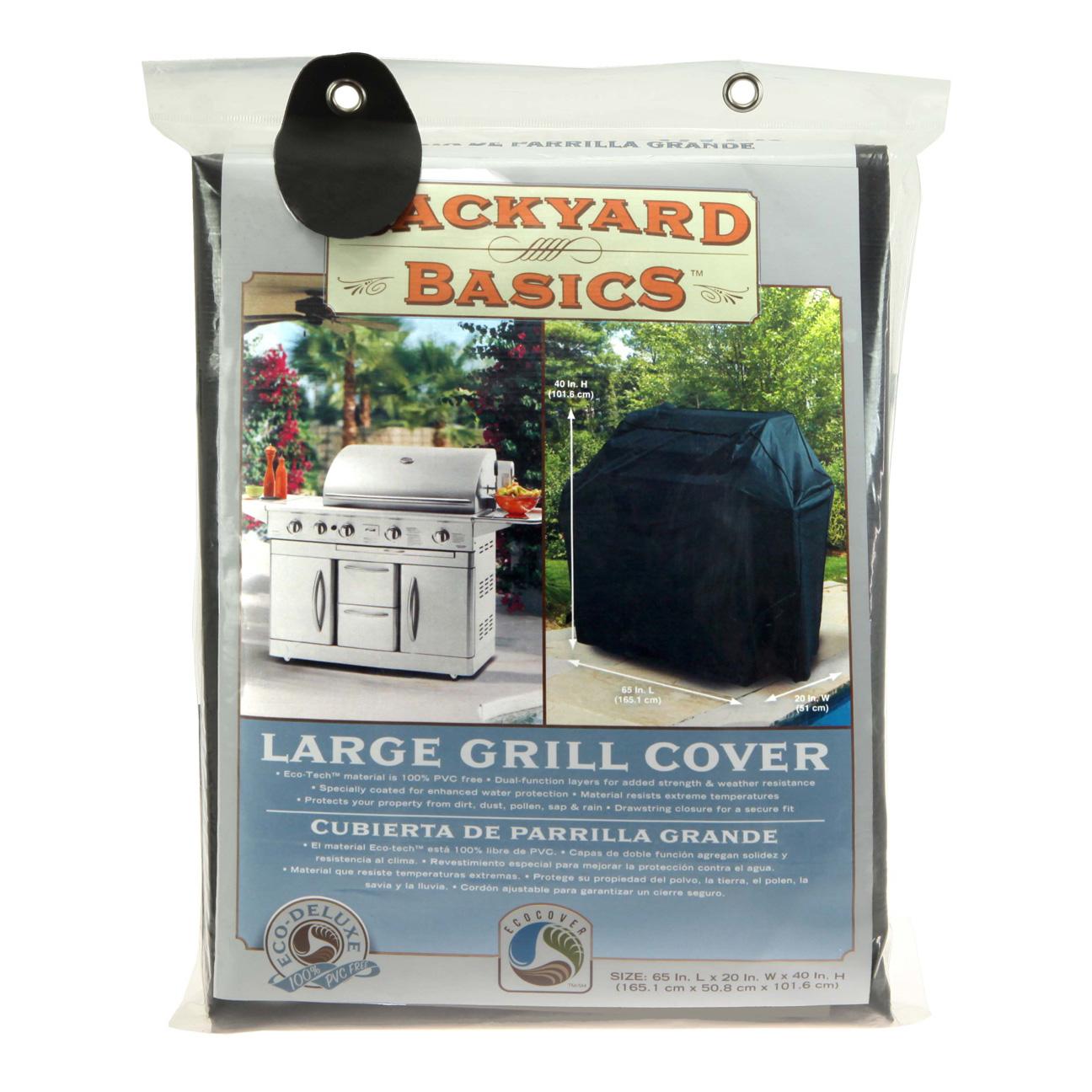 Backyard Basics Grill Cover L