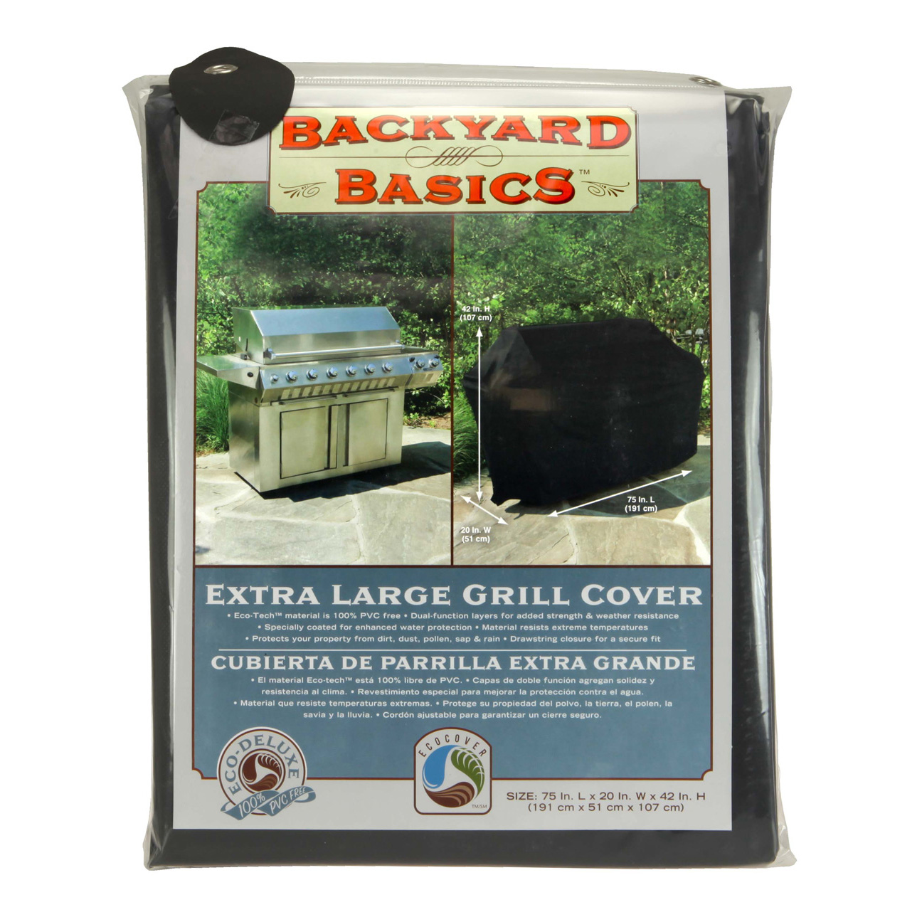 Backyard Basics Grill Cover XL